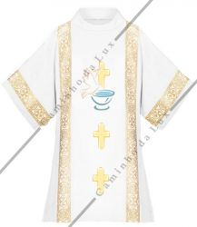 Dalmatica para Batismo Mod. 02