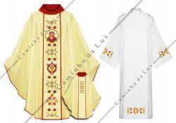Conjunto Jesus Tunica e Casula